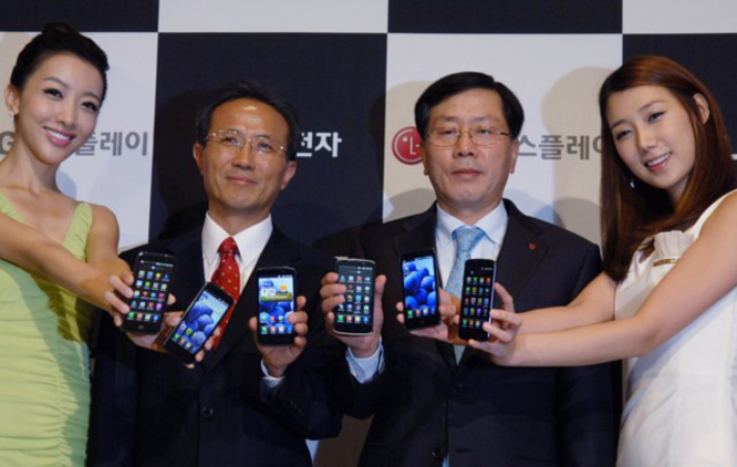 باعت إل جي 55 مليون هاتف عام 2012، وتخطط لزيادتها بمقدار 20 مليون عام 2013
