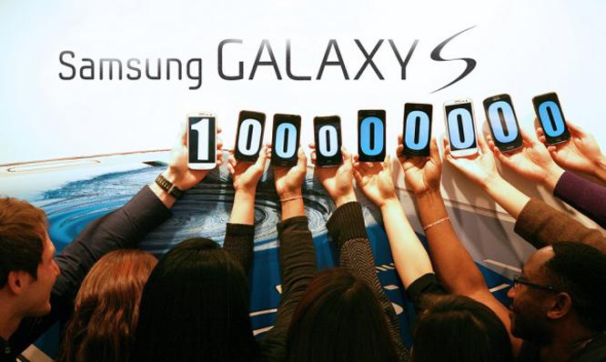 بلغت سامسونغ هذا المستوى من المبيعات بفضل هاتفي غالاكسي إس 3 و غالاكسي إس 2 على وجه التحديد