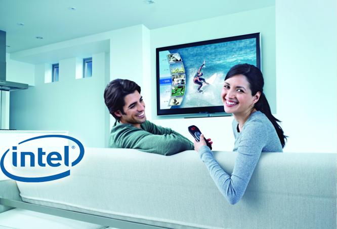 تستعد إنتل للكشف عن أول تلفزيوناتها الذكية التي تجمع بين التلفزيون التلقليدي والتلفزيون عبر الإنترنت