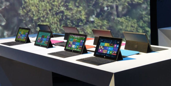 تعوّل مايكروسوفت كثيرا على كمبيوترها اللوحي سيرفس برو الذي يعمل بالنسخة الاحترافية من ويندوز 8