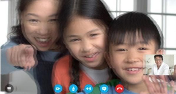 مكالمات سكايب ثلاثية الأبعاد