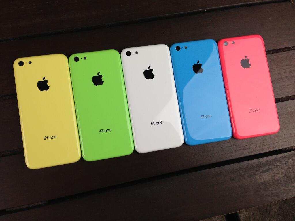 آيفون 5 سي، iPhone 5C