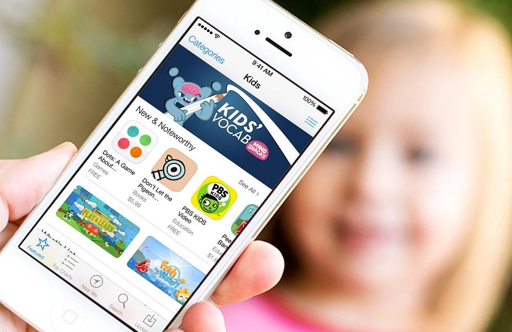 متجر تطبيقات للأطفال