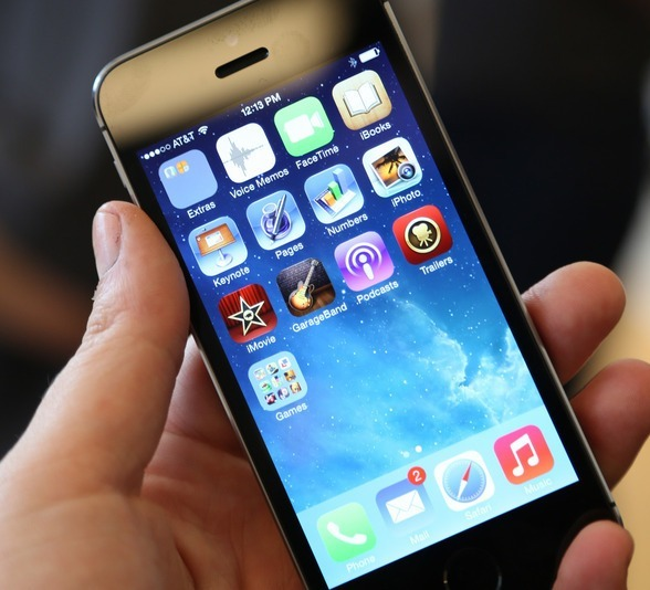 توقف التطبيقات عن العمل في آيفون 5 إس