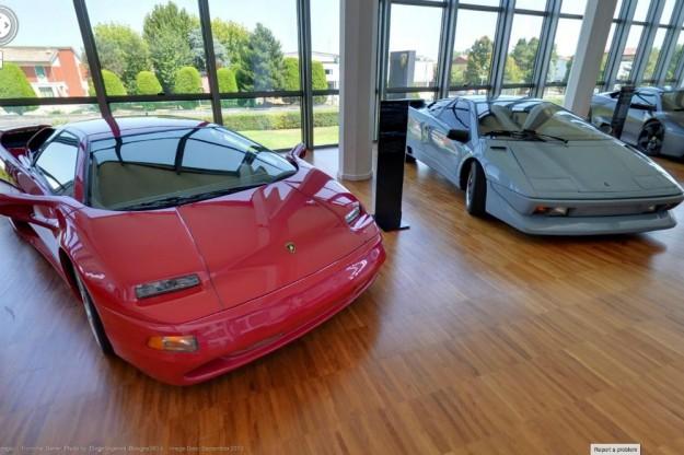 جولة من غوغل في متحف سيارات لامبورغيني 1