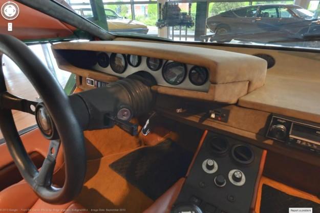 جولة من غوغل في متحف سيارات لامبورغيني 2