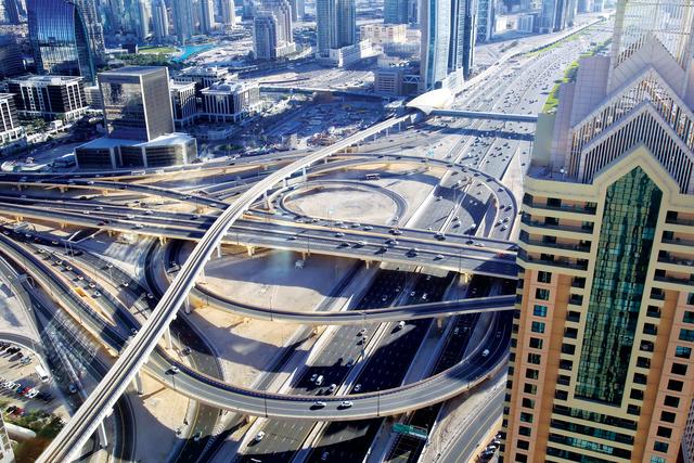 مشروع تحويل دبي إلى مدينة ذكية