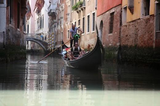 جولة مائية من غوغل في مدينة البندقية