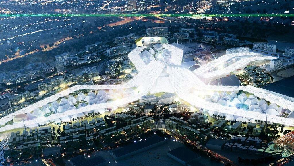 مدينة المعارض التي ستستضيف إكسبو 2020