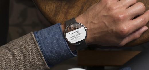 بالصور الكشف عن ساعة موتو 360 الذكية بنظام أندرويد  1