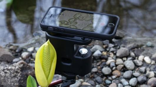 بالصور ..ميكروسكوب محمول يعمل عبر هواتف آيفون
