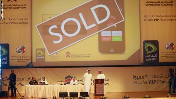في الإمارات.. بيع رقم جوال مميز بـ 2 مليون دولار