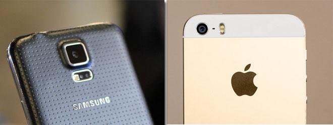 S5 vs 5s camera