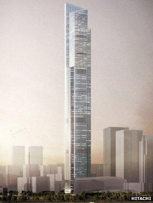 أسرع مصعد في العالم .. يصل للطابق 94 في 43 ثانية فقط