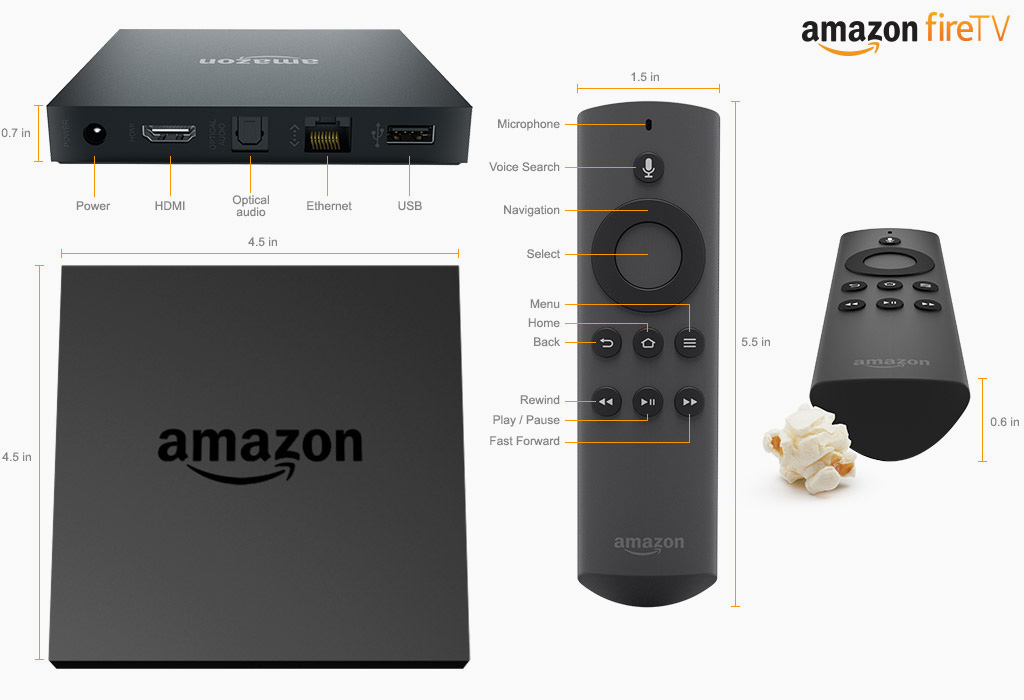 أمازون تطلق جهاز لمشاهدة التلفزيون على الانترنت