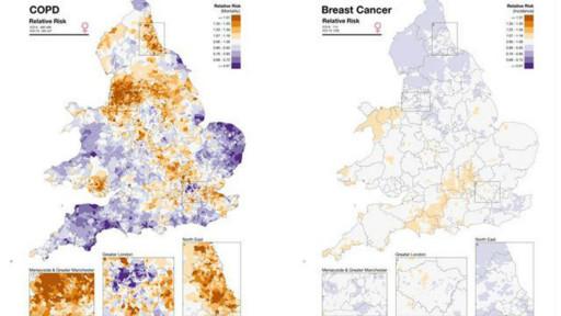 باحثون يطلقون خريطة إلكترونية لأماكن انتشار الأمراض