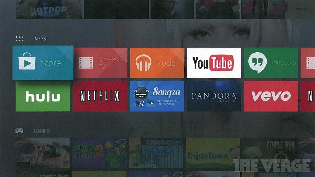 تلفزيون بنظام أندرويد من غوغل