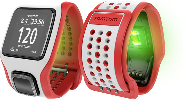"""""""توم توم"""" تكشف عن ساعتين ذكيتين بتقنية GPS ومستشعر لتتبع معدل ضربات القلب"""