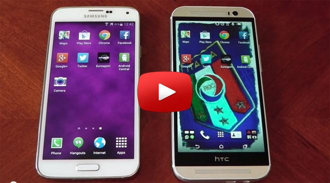 جالاكسي إس 5 و HTC One M8