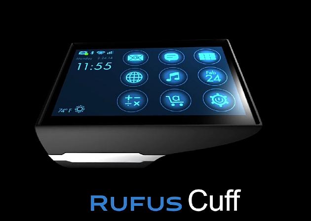 Rufus Cuff ساعة ذكية جديدة متوافقة مع أندرويد وiOS