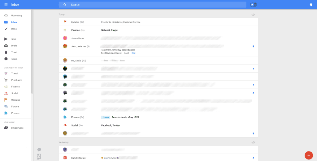 بالصور..غوغل تعتزم تغيير تصميم خدمة Gmail1