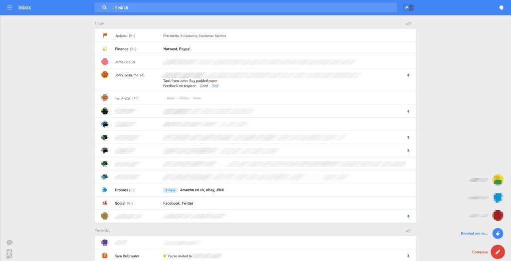 بالصور..غوغل تعتزم تغيير تصميم خدمة Gmail2