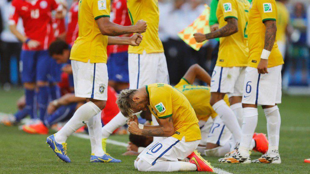 تغريدات مباراة البرازيل وتشيلي تسجل رقما قياسيا على تويتر