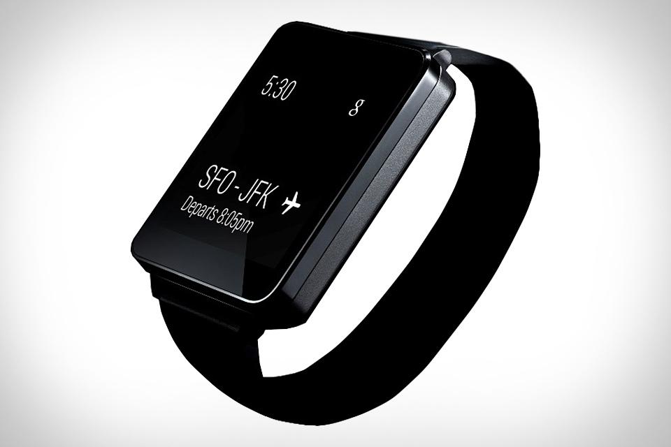 جوجل تطلق الساعة الذكية إل جي G Watch للطلب المسبق