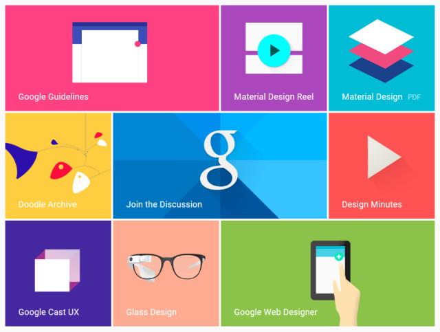 غوغل تسعى لتوحيد تصميمات منتجاتها