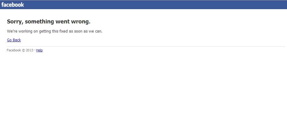 فيسبوك يتوقف عن العمل في مصر