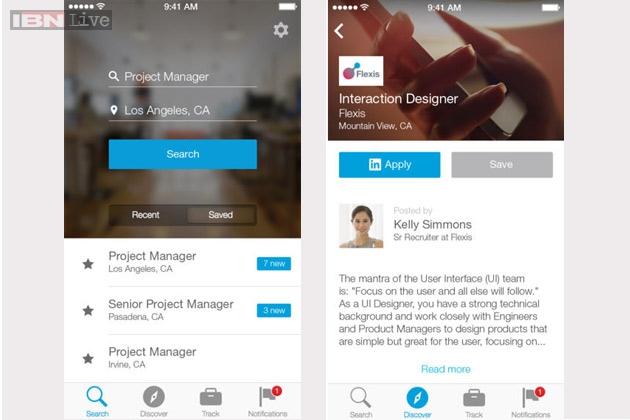 التطبيق الجديد يحمل اسم لينكد إن جوب ريسيرش ويتيح للمستخدمين البحث عن الوظائف بسرعة كبيرة من خلال بعض البيانات التي يقوم بتسجيلها المستخدم،