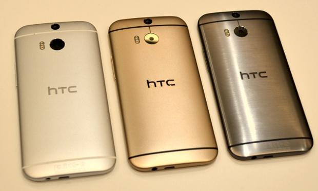 دو تعلن عن توافر HTC One M8 الذهبي حصريا