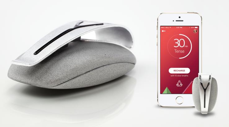 Spire .. جهاز صحي جديد للحد من توتر المستخدمين