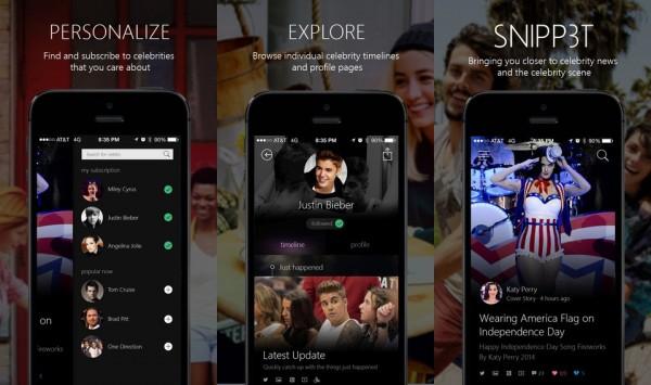 مايكروسوفت تطلق تطبيقًا لمتابعة أخبار المشاهير