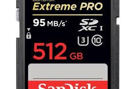 SanDisk تطلق أكبر بطاقة تخزينية في العالم بسعة 512 جيجا بايت