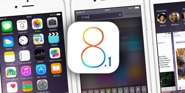 أبل تطلق iOS 8.1