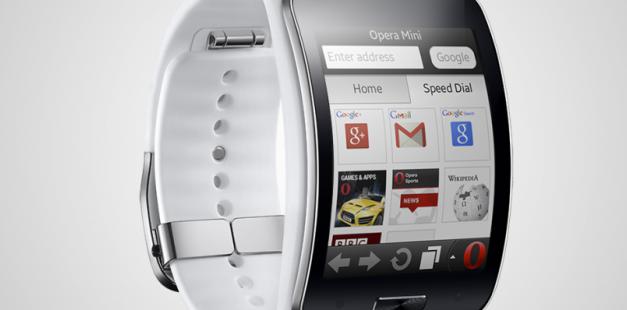 الساعة الذكية جالاكسي Gear S تتيح تصفح الإنترنت