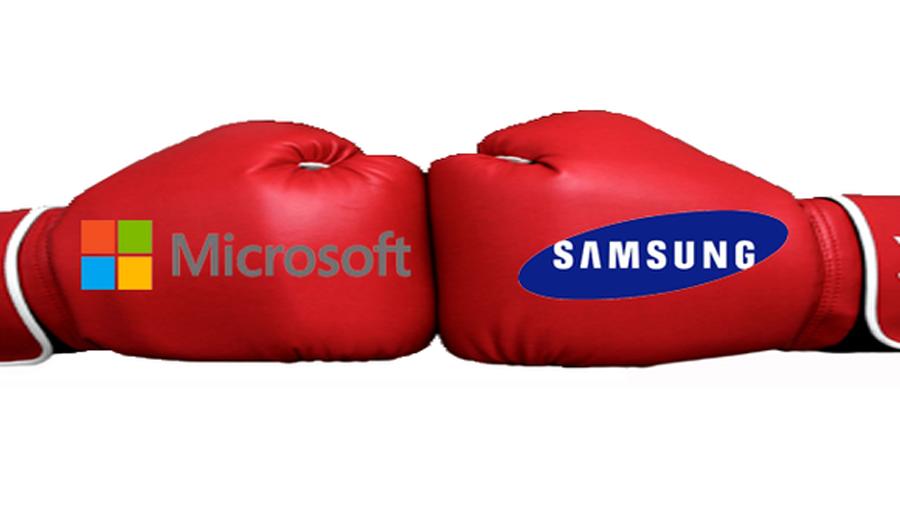 مايكروسوفت تطالب سامسونج بـ 6.9 مليون دولار بسبب أندرويد