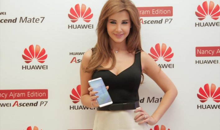 هواوي تختار نانسي عجرم سفيرة لها في الشرق الأوسط