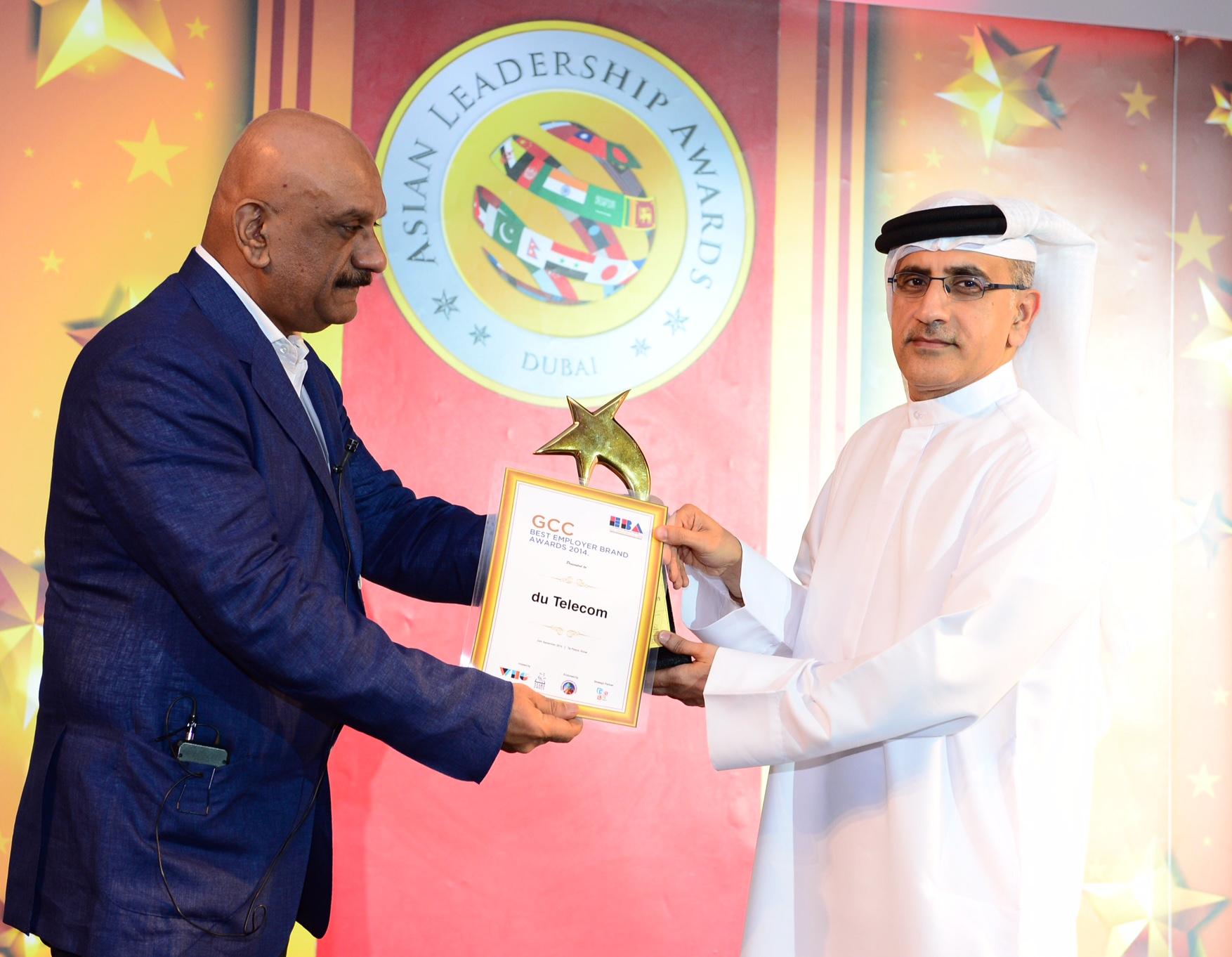 دو تحصل على جائزة أفضل علامة تجارية في مجلس التعاون الخليجي للعام 2014