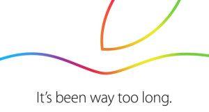 أبل ترسل دعوات إطلاق الجيل الجديد من آيباد
