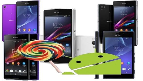 سوني لولي بوب سيصل لمجموعة من هواتف Xperia دفعة واحدة