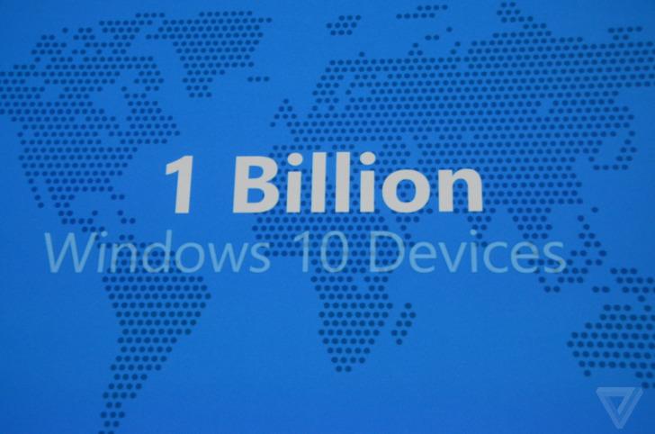 مايكروسوفت تأمل بوصول ويندوز 10 لمليار مستخدم