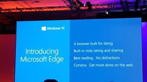 مايكروسوفت تكشف النقاب عن متصفح مايكروسوفت إيدج