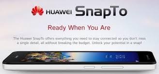 هواوي تكشف عن هاتف Huawei SnapTo الذكي