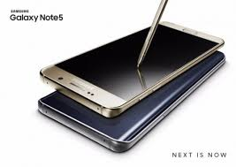 سامسونج تكشف عن هاتف Galaxy Note 5 الذكي رسميا