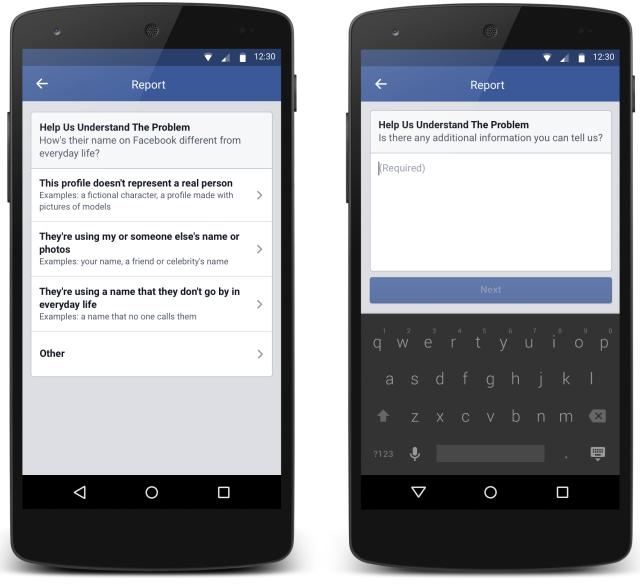 فيسبوك تؤكد التزامها باتفاقية الأسماء الحقيقية