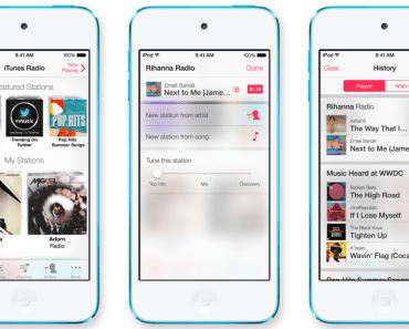 أبل تفرض رسوم على خدمة iTunes Radio المجانية
