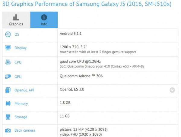 سامسونج تعتزم الكشف عن هاتف Galaxy J5 الذكي _ تعرف على مواصفاته