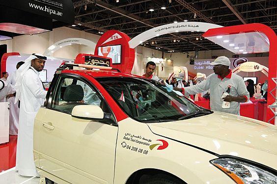 التاكسي الذكي في دبي